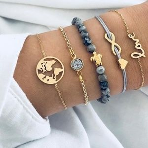 Jewelry - Save the Sea Turtles Bracelet Set